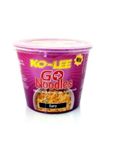 Ko Lee Curry Flavour Go Instant Cup Noodles | Buy Online at the Asian Cookshop